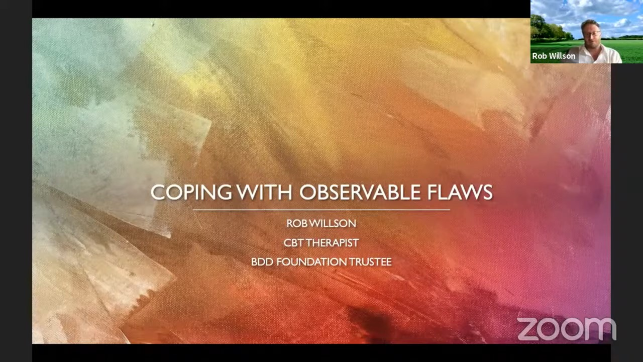 Coping and recovering from BDD when you have visible flaws