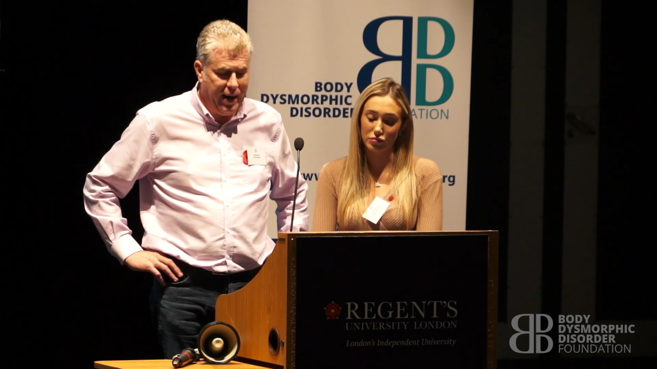 Inspirational Speaker Emily Brookes and her father
