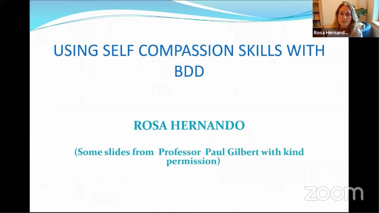Using self-compassion skills for BDD
