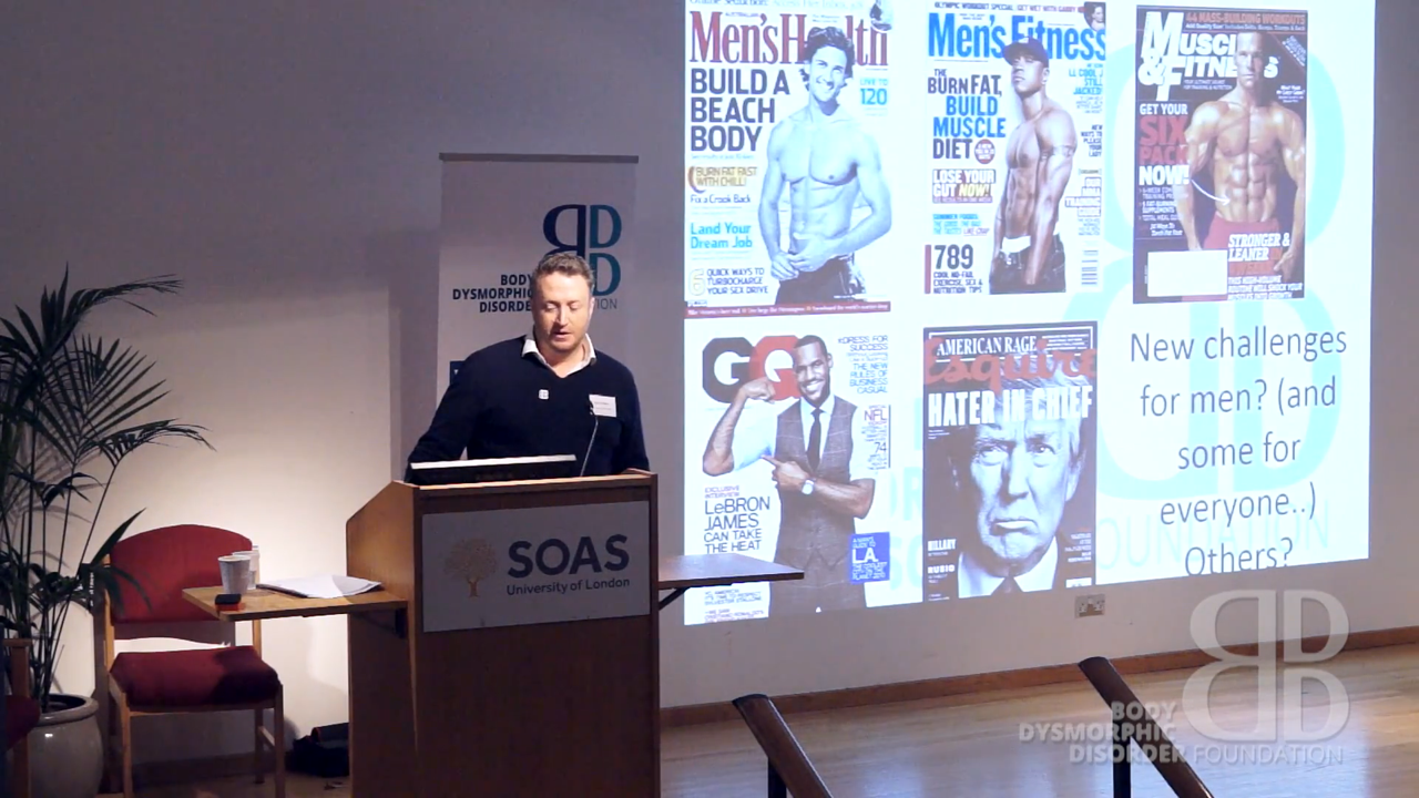 Muscle Dysmorphia & areas of concern common in men with BDD