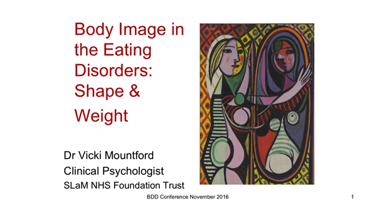 Body Image in Eating Disorders: Shape and Weight