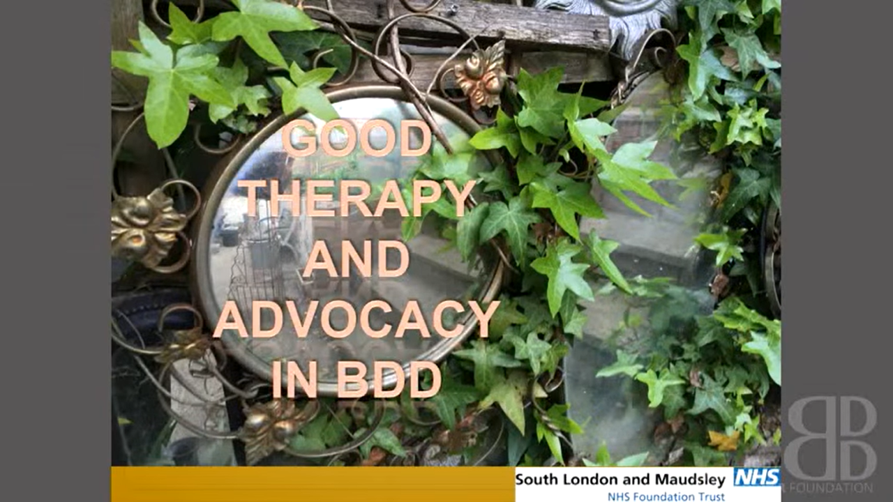 How to get good therapy