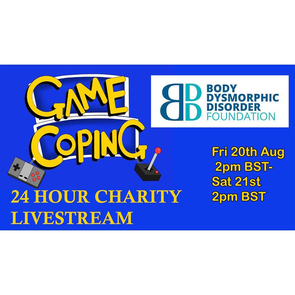 24 Hour Video Game Livestream Fundraiser